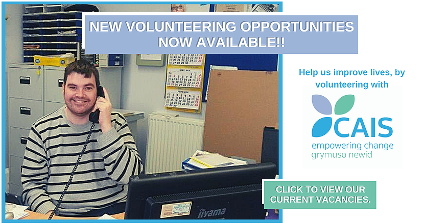 New Volunteering Opportunities Available